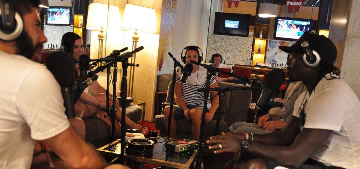 Le Bar des Sports S01E21 : Camel Meriem, Bernard Mendy et Stéphane Matheu