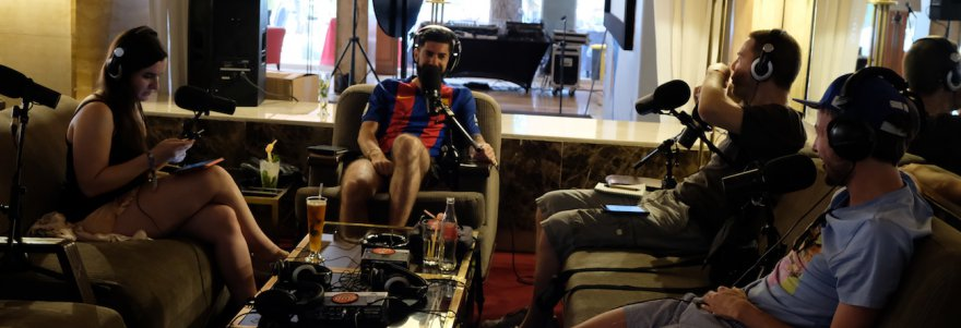 Le Bar des Sports S02E28 : notre premier podcast live from Marrakech