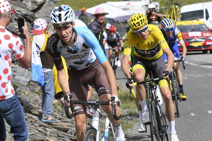 Bardet et Froome