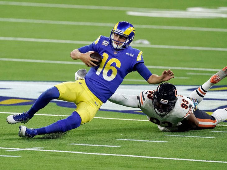 Jared Goff sack