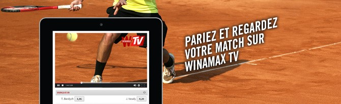 Winamax TV : le bookmaker lance son service de streaming